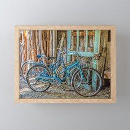 Let's Go For A Ride Framed Mini Art Print