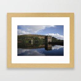 Derwent dam upper level Framed Art Print