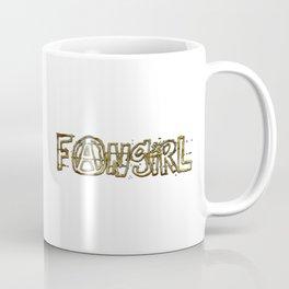 Fangirl (gold) Coffee Mug