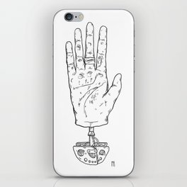 Climber's Hand Pt.1 iPhone Skin