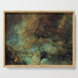 Gamma Cygni Nebula Serving Tray