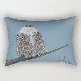 My world orbits around hers Rectangular Pillow