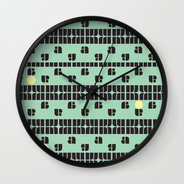 A dot! Wall Clock