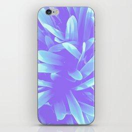 Elegance, Blue iPhone Skin