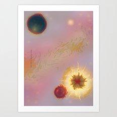 SPACE X2-003 Art Print