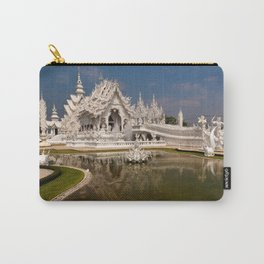 White Temple Carry-All Pouch