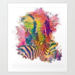 Benevolent Love Art Print