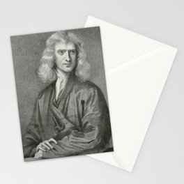 The Adolfo Stahl lectures in astronomy (1919) - Sir Isaac Newton Stationery Cards