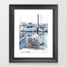 Living on the Go Framed Art Print