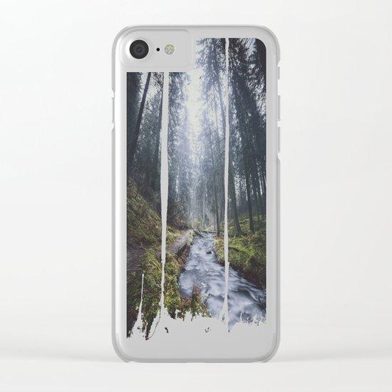 Damped feelings Clear iPhone Case