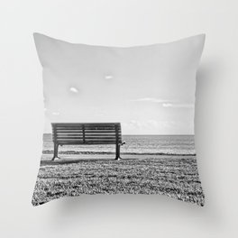 Is this what lonely feels like? Throw Pillow