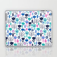Flourish (Blues) Laptop & iPad Skin