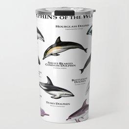 Dolphins of the World Travel Mug
