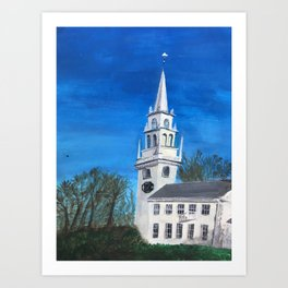 Trinity Church Art Print