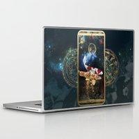 zodiac Laptop & iPad Skins featuring Zodiac : Pisces by Andre Sanchez