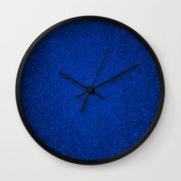 Tanzanite Blue Sparkling Jewels Pattern Wall Clock