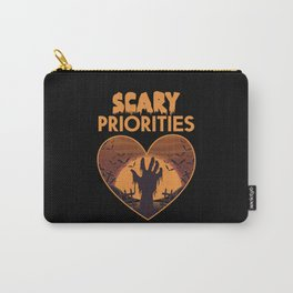 Halloween Costume Bat Zombie Monster Carry-All Pouch