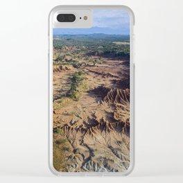 Desierto de Tatacoa Clear iPhone Case