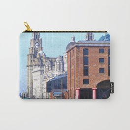 Albert Dock And the 3 Graces Carry-All Pouch