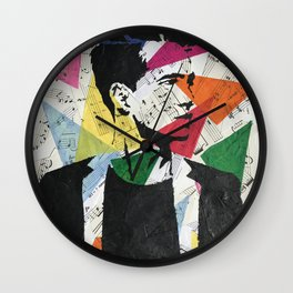 Brendon Urie Collage Print Wall Clock