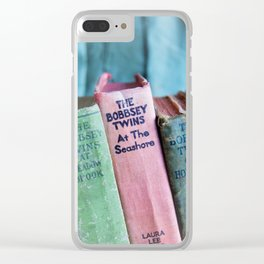 The Bobbsey Twins Clear iPhone Case