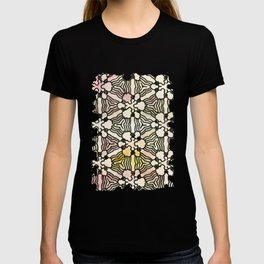 Floral Circuitry T-shirt
