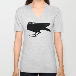 Odin's Ravens Huginn and Muninn Unisex V-Neck