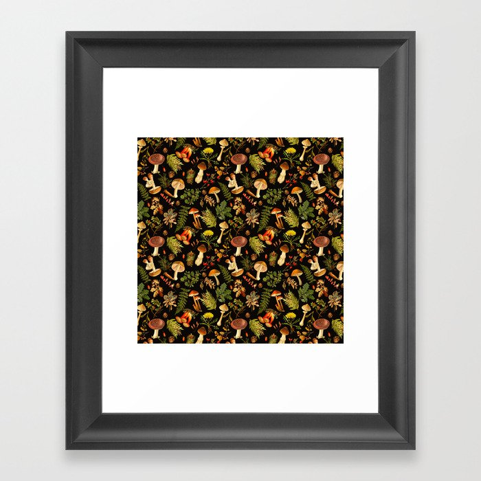 Vintage & Shabby Chic - Autumn Harvest Black Gerahmter Kunstdruck