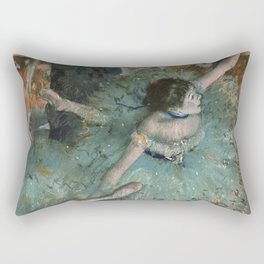 Swaying Dancer - Edgar Degas Rectangular Pillow