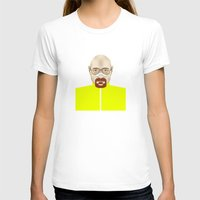 walter white T-shirts featuring Walter White by Matteo Lotti