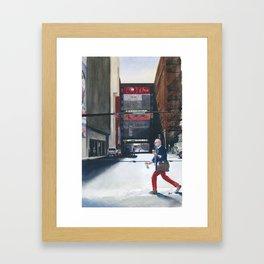 Sunday, Fall Market, High Point, NC Framed Art Print