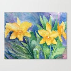 Orchid Sunshine Canvas Print