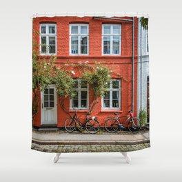 Colors of Copenhagen Shower Curtain
