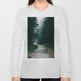 Eerie Dark Path (Color) Long Sleeve T-shirt