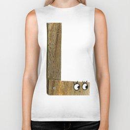"L is for ""Ligneous"" Biker Tank"