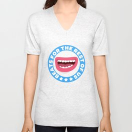 Beatbox for the rest of us Unisex V-Neck