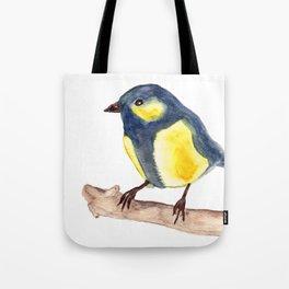 Blue Pinzon Tote Bag