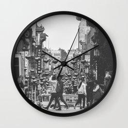 China Town SF Wall Clock