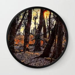 In the Prater Woods Wall Clock
