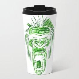 GORILLA KING KONG - Green Travel Mug