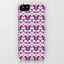 Lilac Pattern iPhone Case