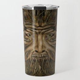 The Green Man Travel Mug