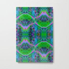 Techno Electric II (Ultraviolet) Metal Print