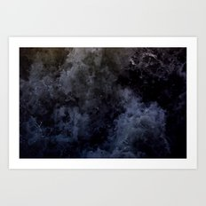 Acqua Nebulae 6 Art Print