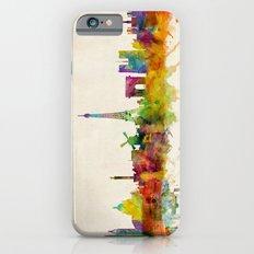 Paris Skyline Watercolor iPhone 6 Slim Case