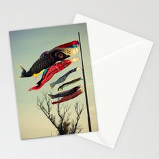 Fish Flags Stationery Cards