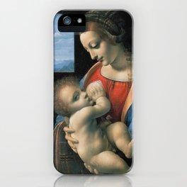 "Leonardo da Vinci ""Madona Litta"" iPhone Case"