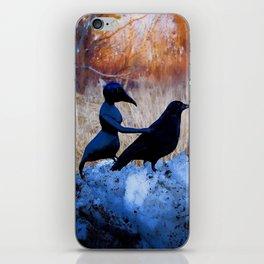 Crow People iPhone Skin