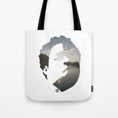 Face & The Ocean Tote Bag