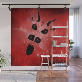 The Demon Wall Mural